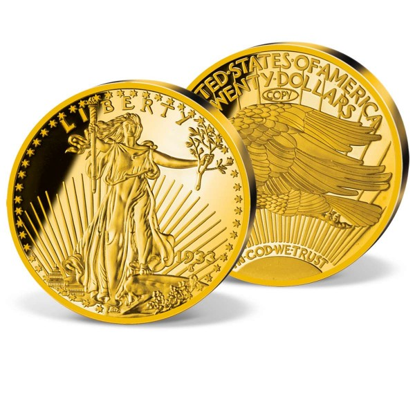"XXXL ražba ""1933 Gold Double Eagle"" CZ_8201700_1"
